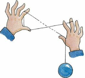 Rotate your hands to form an X shape.