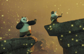 Unexpectedly chosen to fulfill an ancient prophecy and train in the art of kung fu, giant panda Po begins his study under Master Shifu.