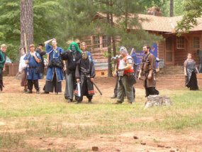 Campgrounds are a common LARP venue.