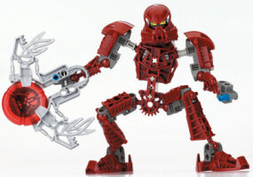 BIONICLE elements often bear little resemblance to a 2 x 4 brick.