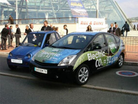 Modified Prius: LPG-electric hybrid