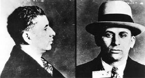 Mug shot of Meyer Lansky