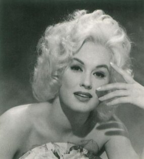 "Universal Pictures touted Mamie Van Doren as ""the girl built like a platinum powerhouse,"" but her career stalled in B-movies."