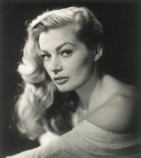 The statuesque Anita Ekberg.
