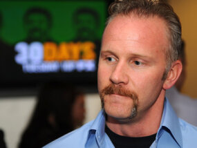 """Super Size Me"" documentarian Morgan Spurlock took it upon himself to have a McDonald's-only diet for a month. The damage to his health alarmed viewers and caused backlash against McDonald's."