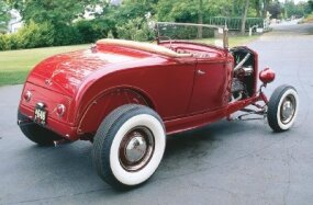 Collector Gordon Apker had the McGowan Brothers' Roadster professionally restored, taking care to maintain authenticity.