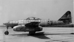 Germany built more than 1,400 Me 262s, but only about 300 ever saw combat.