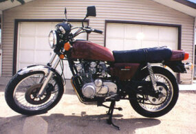 1978 Suzuki GS550, a typical UJM