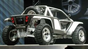 The rear of the Ford EX