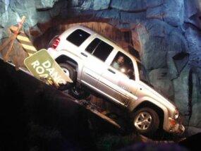Daimler Chrysler debuts the Jeep Liberty SUV.