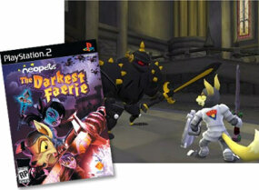 """Neopets: The Darkest Faerie"" PlayStation 2 game"