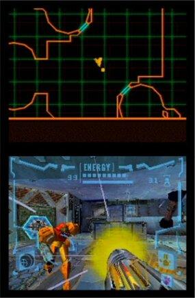 Screen shot of Metroid Prime: Hunters