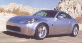 A production-ready Nissan 350Z brought the concept cars to life on public roads.