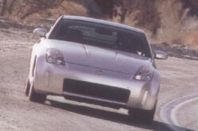 The unit body of the 350Z was designed to be rigid yet devoid of performance-robbing weight.