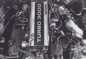 The Nissan 300ZX Turbo V-6 had less drag than the 280ZX.