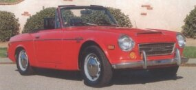 The 1970 Datsun 2000 Sports represented the best of the Datsun roadsters until the Z came along.