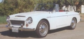 The 1966 Datsun 1600 Sports, with its slightly large engine, showed the Datsun roadster was evolving.