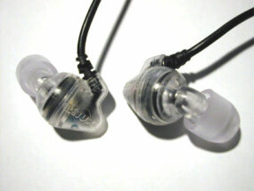 In-ear, canal-style headphones are used often by musicians and others desiring superior sound quality.