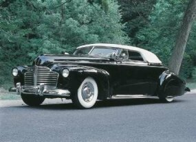 The Pisano/Ogden, a custom 1941 Buick convertible, needed few modifications to turn a lot of heads.