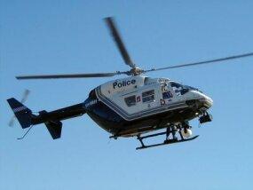 A Kawasaki BK117 - WA Police Polair 61 helicopter