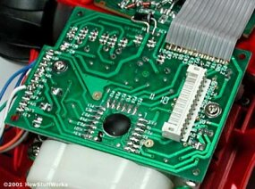 The central circuit board in the Rumble Robot