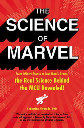 book cover for The Science of Marvel