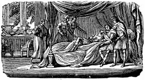 alexander the great deathbed woodcut