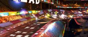 "A race scene from ""Speed Racer."""