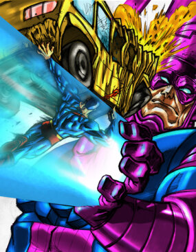 Could Galactus beat Superman with his Power Cosmic?