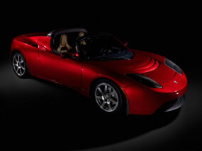 The Tesla Roadster's chassis is a heavily-modified version of the Lotus Elise chassis.