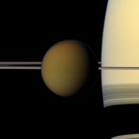 Titan and Saturn