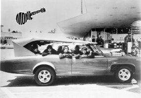 Dean Jeffries' vision of the Monkeemobile gave it a third row of seating, in case the Monkees wanted to bring along any female fans.