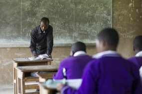 uganda chemistry classroom