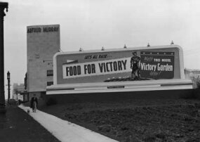 "During World War II, the U.S. government urged people to turn their yards into ""victory gardens"" to help the war effort."