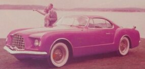 Some insist the styling of the Volkswagen Karmann-Ghia was a downsized version of the 1953 Chrysler-Ghia D'Elegance concept car, shown.