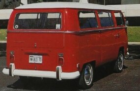 The second-generation VW bus introduced to the van world the sliding side door. It was on the right side.
