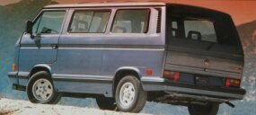 By 1989, when this plush $19,000 Wolfsburg Limited Edition was offered, Vanagon sales were suffering at the hands of the car-based Chrysler and Dodge minivans.