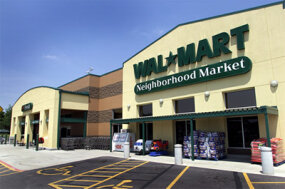 A Wal-Mart Neighborhood Market