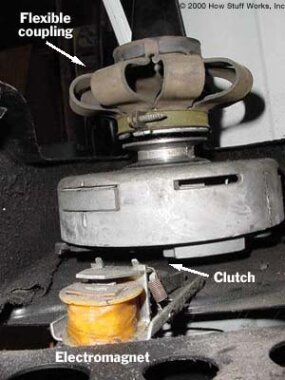 Clutch and flexible coupling
