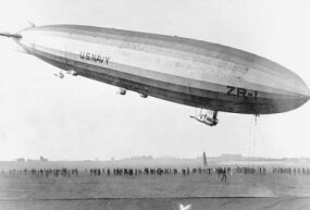 The USS Shenandoah saw the derigible as a sensible means of reconnaissance.