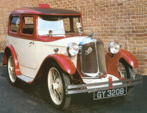 This 1932 Austin-Swallow was equipped with a smoker's vent in the roof. See more classic car pictures.