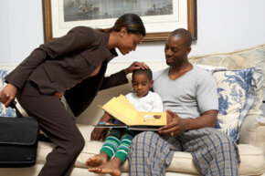 Image Gallery: Parenting Some careers offer more flexibility for balancing home and office. See more pictures of parenting.