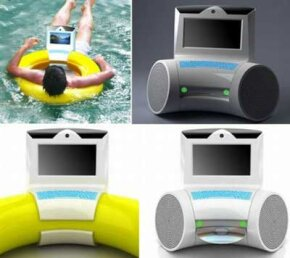 Why not surf the Internet while you float around your pool?