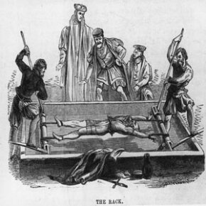 Protestants were regularly tortured and martyred for their religious beliefs.