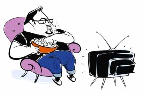 Get out that chair! A study showed folks who watched 4 or more hours of TV a day were 80 percent more likely to die of heart disease.