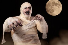Back off, bandage man. Real life is way scarier than you could ever be.
