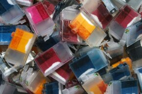 A lot of the ink cartridges that are thrown away still contain ink.