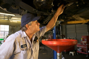 It's a good idea to double-check (or even triple-check) that you replaced whatever fluid you drained out of your car.