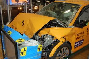 Newer cars go through stringent crash tests.