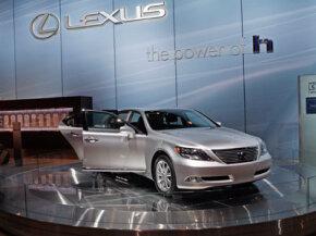The Lexus LS600h